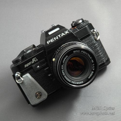 PENTAX SuperA用小型グリップ [MRO-GP-PAG-01]