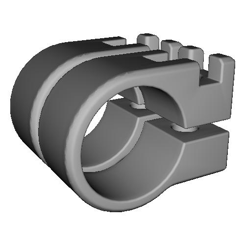 クランプパーツ(STIカーボンタワーバー用) 2個セット