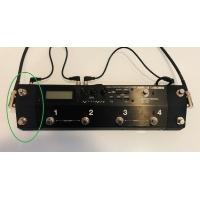 BOSS MS-3 ジャンクション&フットスイッチ  OUTPUT/左置き