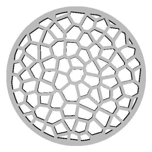 フィルター交換型立体マスク本体2/3(コロナウイルスや花粉や防塵対策など)