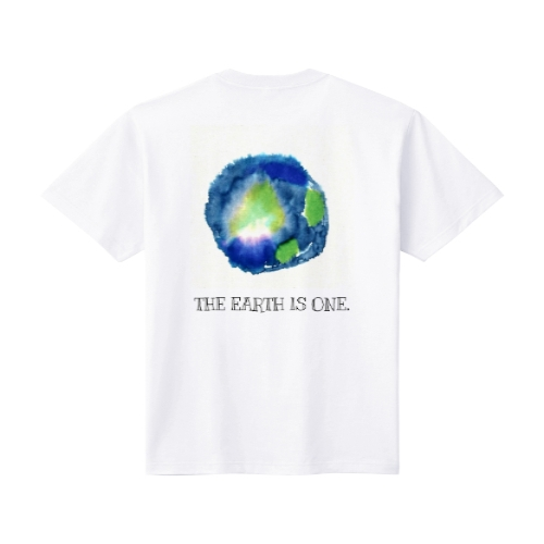 THE EARTH IS ONE Tシャツ M ホワイト