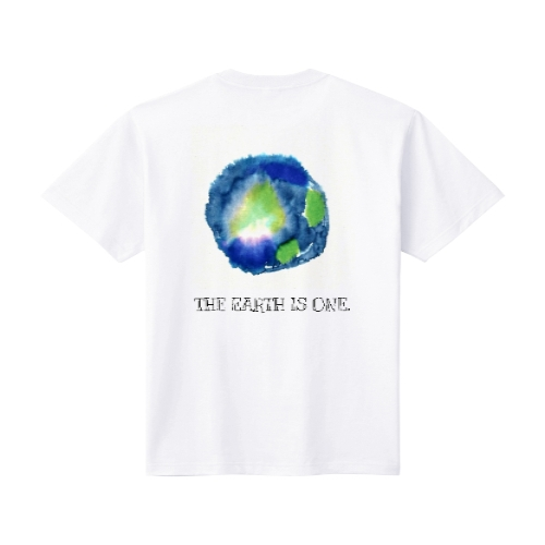 THE EARTH IS ONE XL ホワイト