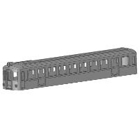 KNR Nゲージ680系タイプ モ680形タイプ ボディ1両