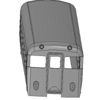 KNR近畿日本 Nゲージ11400系タイプ モ11400形タイプ ボディ1両
