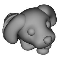 スマホスタンド Poodle-Chan
