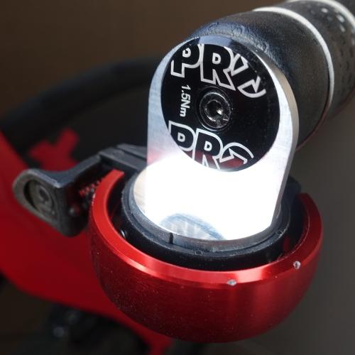 自転車・ロードバイク用 エンドキャップに固定するベルの台座