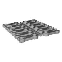 プラレールアドバンス 接続部品 typeA(12個セット)