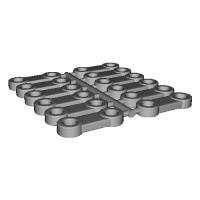 プラレールアドバンス 接続部品 typeB(12個セット)