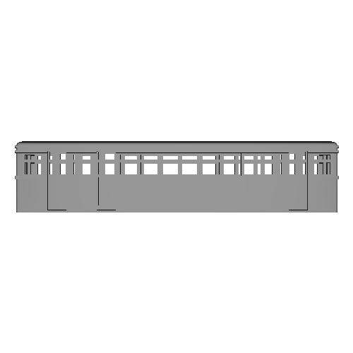 軽便電車220タイプ  車体 1両
