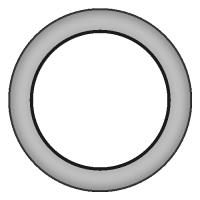 シンプル甲丸リング_0号サイズ