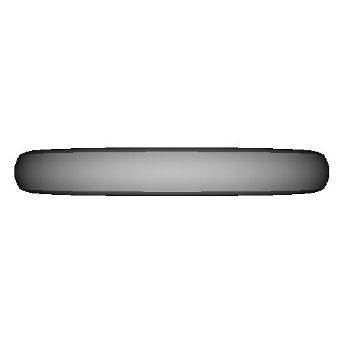 シンプル甲丸リング_7号サイズ