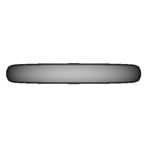 シンプル甲丸リング_8号サイズ