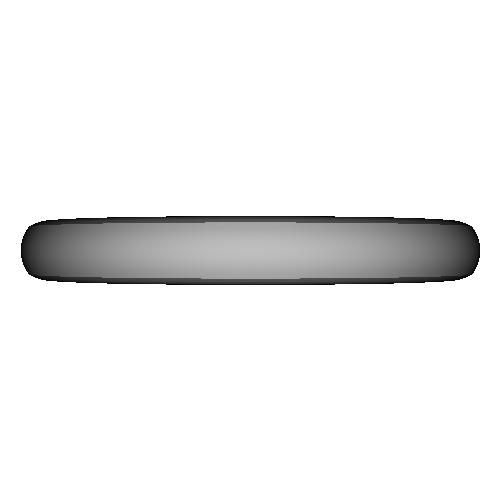 シンプル甲丸リング_9号サイズ