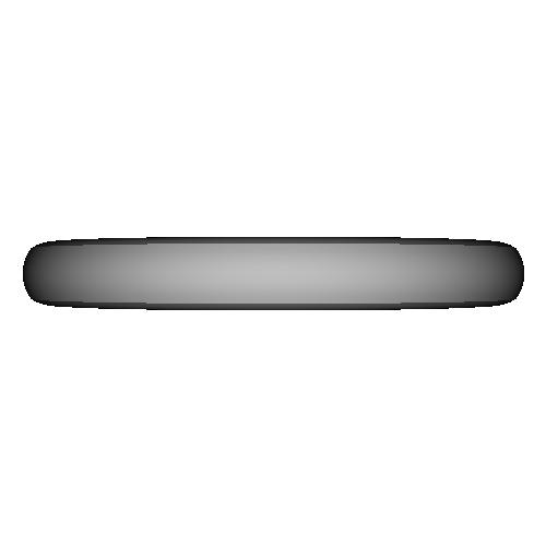 シンプル甲丸リング_10号サイズ