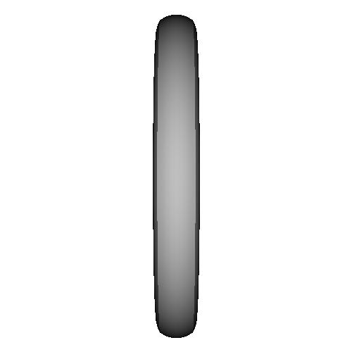シンプル甲丸リング_11号サイズ