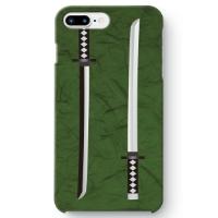 【日本刀柄】iPhone8Plus用スマホケース