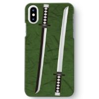 【日本刀柄】iPhone X 用スマホケース