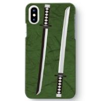 【日本刀柄】iPhone XS 用スマホケース