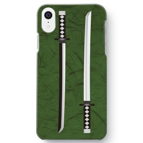 【日本刀柄】iPhone XR 用スマホケース