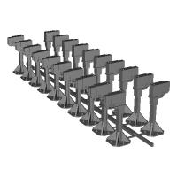 Nゲージサイズ踏切障害物検知装置