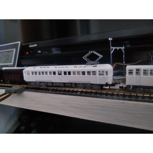 古典電車  デハ1/モハ1100 タイプ車体