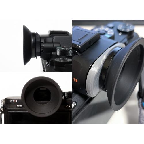 a7シリーズ用 Nikon DK-19アイピースアダプタ