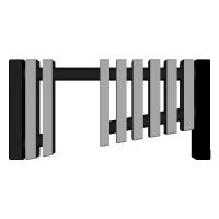 鉄琴風の箸置き