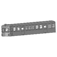 KNR Nゲージ400系タイプ ボディ1両