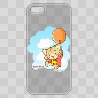すずにゃん(風船)クリア iPhone 5/5s