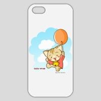 すずにゃん(風船)ホワイト iPhone 5/5s