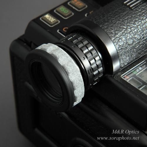 PENTAX645用アイピースアダプター(DK-17/A/F用) [MRO-AA-645-01]