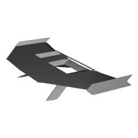 XD-01b(ラズベリーパイゼロ搭載可能な飛行機モデル)