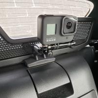 GoPro車載ブラケット マツダNDロードスター / アバルト124スパイダー専用