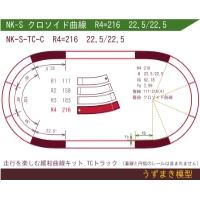 緩和曲線キット NK-S-TC-C R4=216 22.5/22.5 O-B