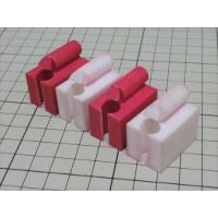 組木屋4ピースジグソーパズル・レッド(全ピース)