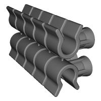ロータスエリーゼ用トランクリッドストッパーホルダー10pcs