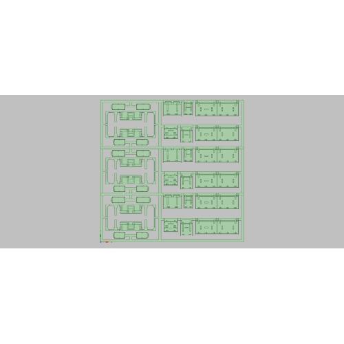 E231-500 床下機器セット (K社向け3編成分)