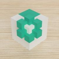 「立方体を3分割し美を表現する」という課題 9