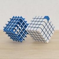 「立方体を3分割し美を表現する」という課題 8
