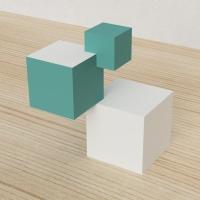 「立方体を3分割し美を表現する」という課題 6