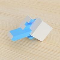 「立方体を3分割し美を表現する」という課題 2