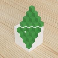 「立方体を3分割し美を表現する」という課題 1