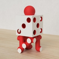「立方体を3分割し美を表現する」という課題 10