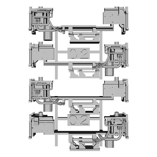 TB19-02:10000系列連結器周辺パーツ【武蔵模型工房 Nゲージ 鉄道模型】