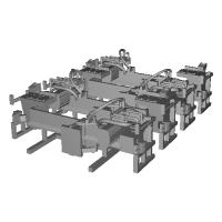 TB19-13:10000系列連結器周辺パーツ【武蔵模型工房 Nゲージ 鉄道模型】