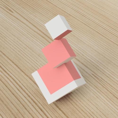 「立方体を3分割し美を表現する」という課題 12