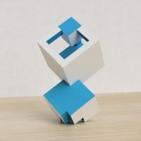 「立方体を3分割し美を表現する」という課題 13