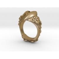 桜着物 指輪
