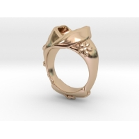 桜着物 指輪(真珠用)