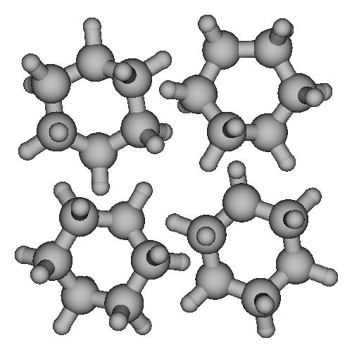 シクロヘキサンの立体配座